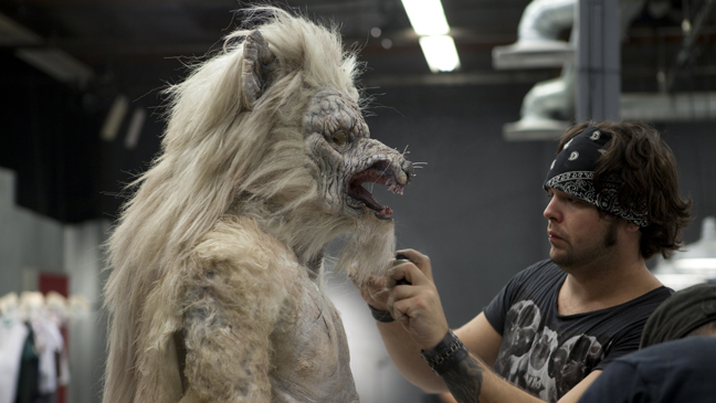 Syfy Face Off Wolfman 2011