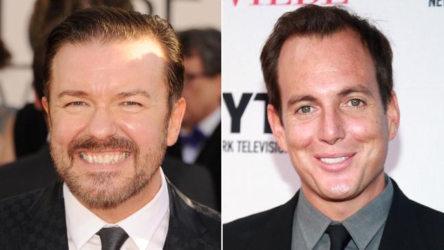 Ricky Gervais Will Arnett Split 2011