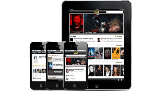 IMDB iPhone iPad Apps 2011