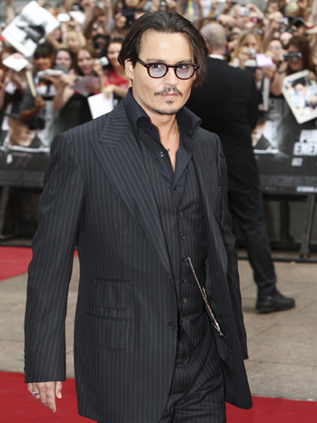 Johnny Depp - European Film Premiere Public Enemies - 2009