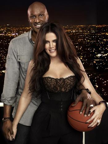 Lamar Odom Khloe Kardashian Basketball 2011