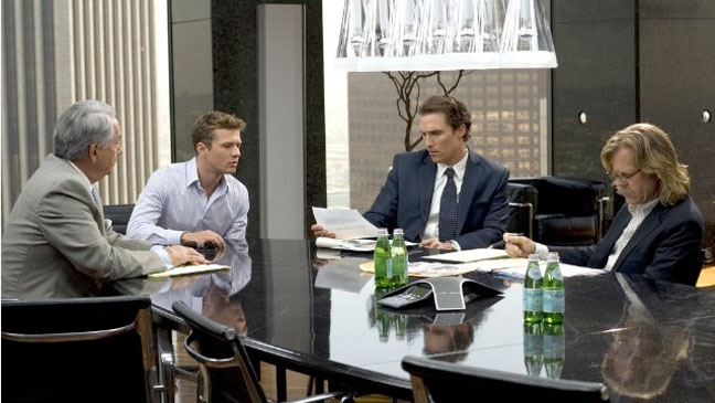 The Lincoln Lawyer - Film Still: Matthew McConaughey, Ryan Phillippe and William H. Macy - 2011