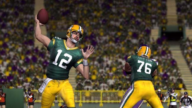 Madden NFL 11 Packers Aaron Rodgers 2011