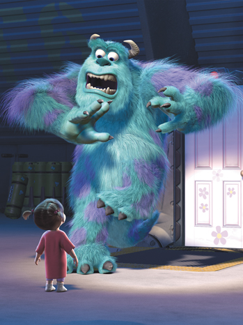 Monsters Inc. Sully 2011
