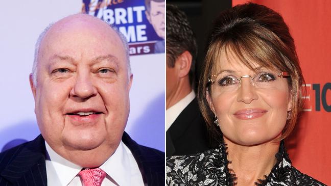 Roger Ailes Sarah Palin Split 2011