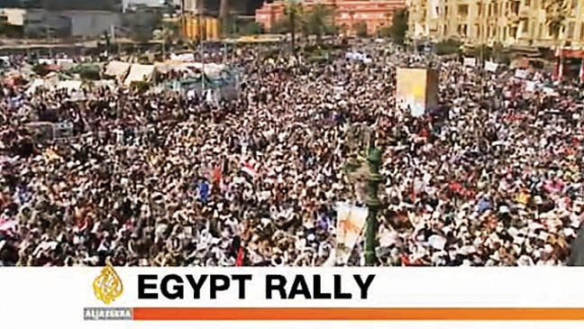 Coverage: Egyptian Protests