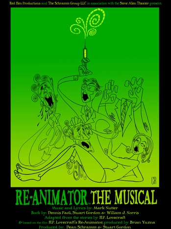Re-Animator - Theater Poster - 2011