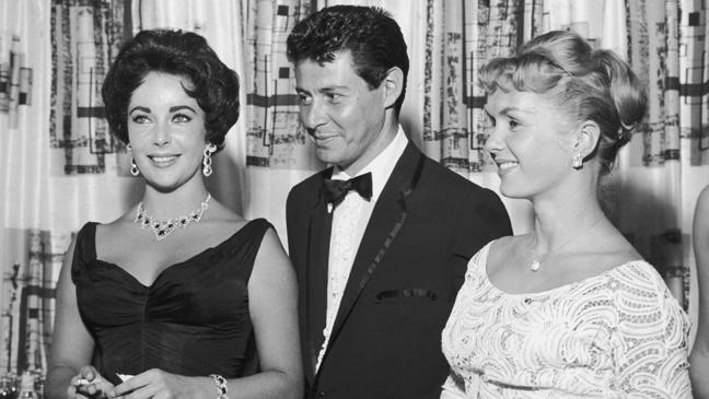 Elizabeth Taylor Eddie Fischer Debbie Reynolds 1958