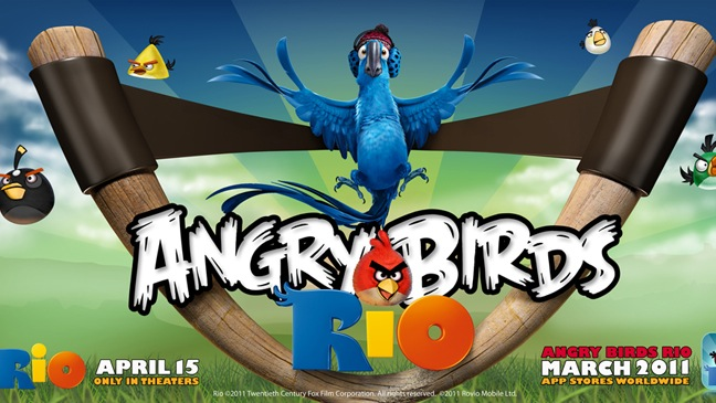 Angry Birds Rio - Vidoe Game Promo - 2011