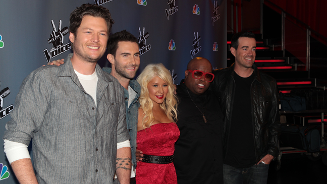 the voice group photo