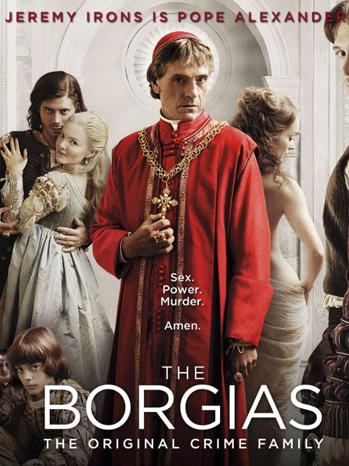 The Borgias - TV poster - 2011