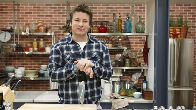 Jamie Oliver's Food Revolution - TV Still: Jamie Oliver - 2011