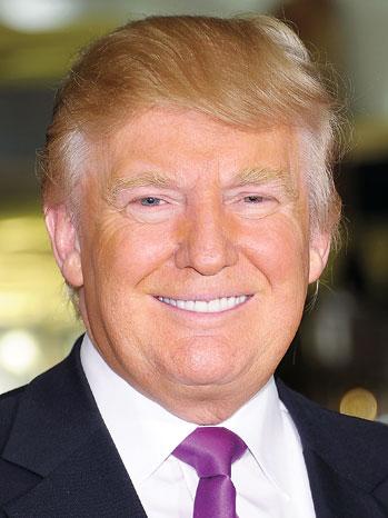 25. Donald Trump