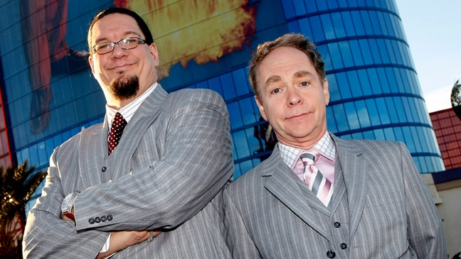 Penn Jillette and Teller-Rio Hotel & Casino-2009