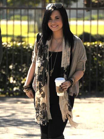 Demi Lovato - Celebrity Sighting - 2011