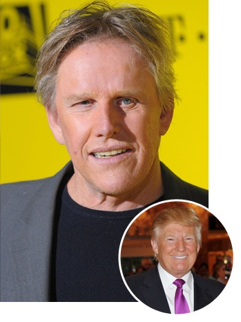 Gary Busey, Donald Trump - SPLIT - 2011