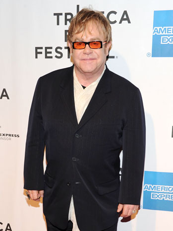 Elton John Tribeca 2011