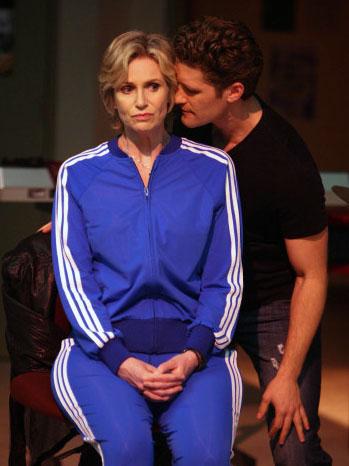 Glee - Episodic Image - Season 1 - Matthew Morrison, Jane Lynch - 2009
