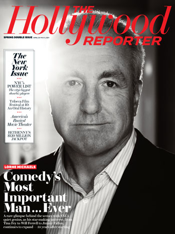 Issue 16 Cover Lorne Michaels