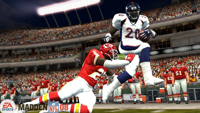 Madden NFL Football Video Game Still