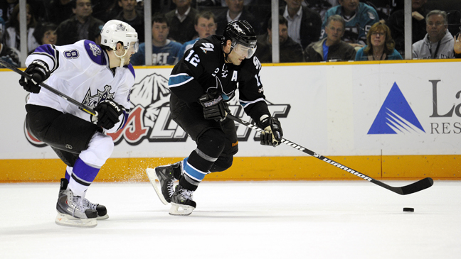 NHL Kings Sharks 2011