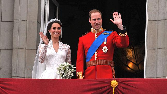 Royal Wedding Balcony Middleton 2011