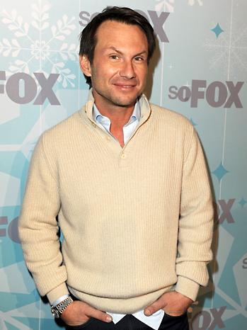 Christian Slater Fox Party 2011