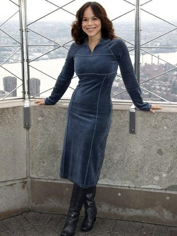 Rosie Perez - @ Empire State Building - 2010