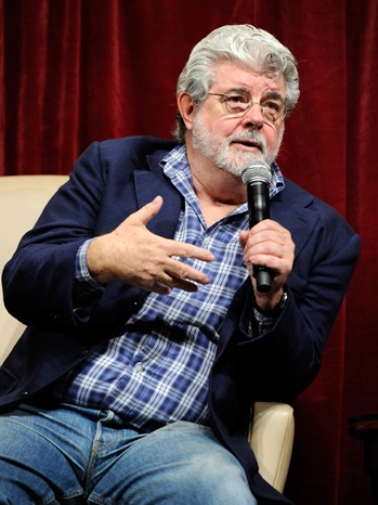 George Lucas - CinemaCon - 2011