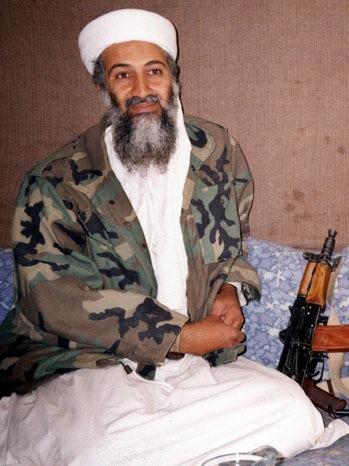 Osama Bin Laden - Portrait - 2001