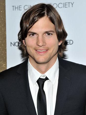 Ashton Kutcher Two and a Half Men 2011