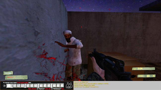 Osama Bin Laden Video Game Still 2011