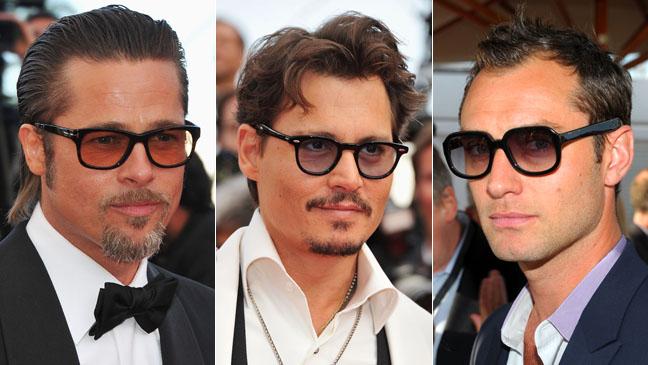 Brad Pitt Johnny Depp Jude Law Cannes Style 2011