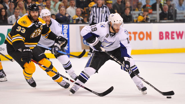 NHL Bruins Lightning 2011