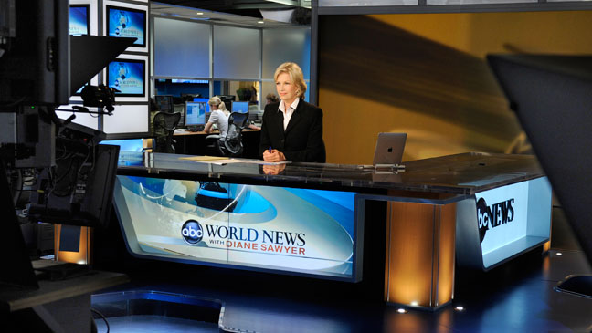 Diane Sawyer - ABC News headquarters in New York City - 2010