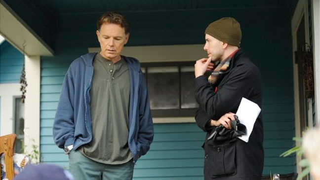 Donovan's Echo - Bruce Greenwood with director Jim Cliffe - 2011