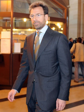 Edgar Bronfman Jr. - Opening Of Trial Of Former Vivendi CEO Jean-Marie Messier - 2010