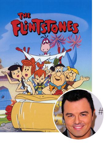 Flintstones Seth MacFarlane Split 2011