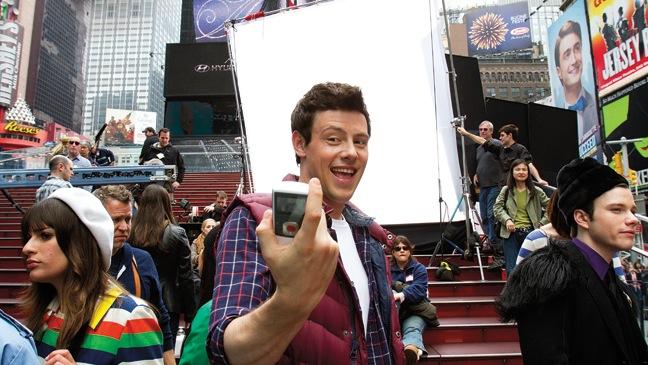 APRIL 25: Times Square | 12:08 p.m.