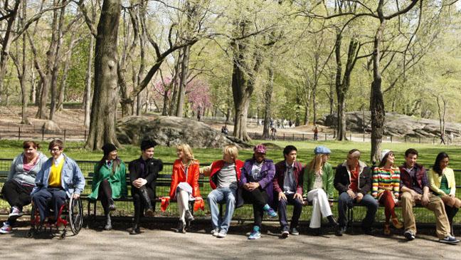 Glee Finale Cast Portrait 2011