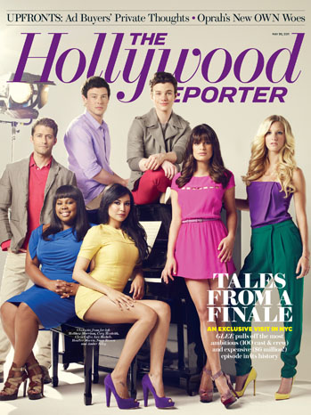 Issue 18 Cover Glee