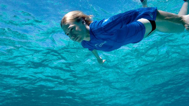 January Jones Oceana Underwater 2011