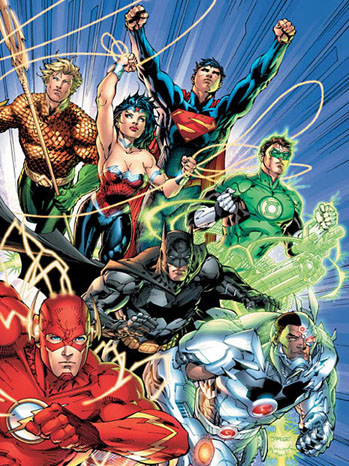 Justice League Art 2011