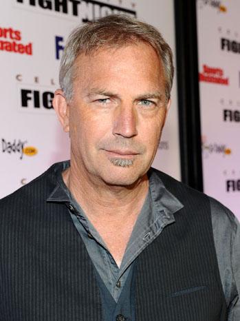 Kevin Costner Celebrity Fight Night 2011
