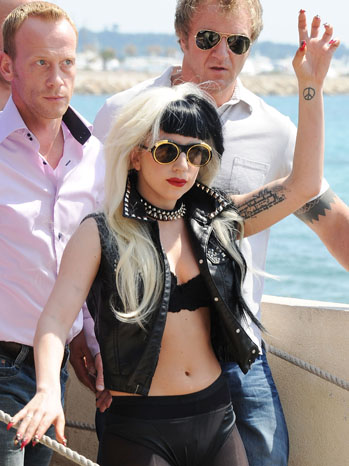 Lady Gaga Cannes Film Festival 2011