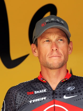 Lance Armstrong - Le Tour - 2010