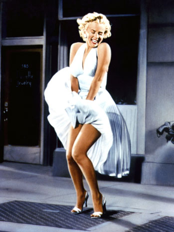 Marilyn Monroe Subway Dress 2011