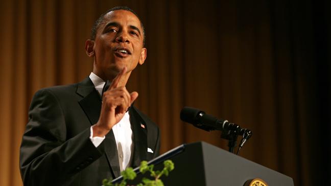 President Obama - White House Correspondents Dinner 2011