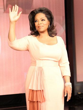 Oprah Winfrey, guest performer...