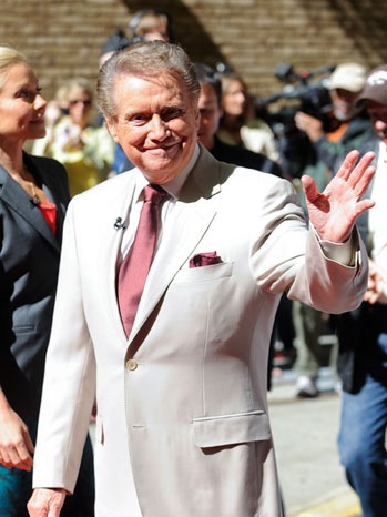 Regis Philbin - Celebrity Sightings In New York City - 2011